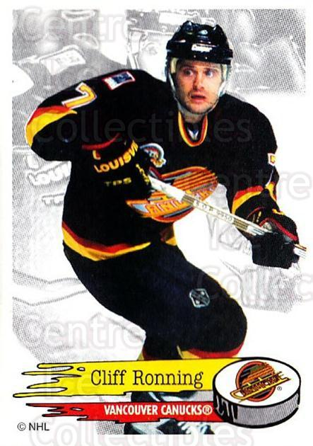 1995-96 Panini Stickers #290 Cliff Ronning<br/>6 In Stock - $1.00 each - <a href=https://centericecollectibles.foxycart.com/cart?name=1995-96%20Panini%20Stickers%20%23290%20Cliff%20Ronning...&quantity_max=6&price=$1.00&code=154636 class=foxycart> Buy it now! </a>