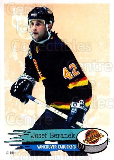 1995-96 Panini Stickers #291 Josef Beranek<br/>6 In Stock - $1.00 each - <a href=https://centericecollectibles.foxycart.com/cart?name=1995-96%20Panini%20Stickers%20%23291%20Josef%20Beranek...&quantity_max=6&price=$1.00&code=154637 class=foxycart> Buy it now! </a>