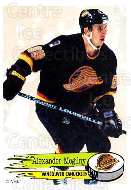 1995-96 Panini Stickers #294 Alexander Mogilny<br/>4 In Stock - $1.00 each - <a href=https://centericecollectibles.foxycart.com/cart?name=1995-96%20Panini%20Stickers%20%23294%20Alexander%20Mogil...&quantity_max=4&price=$1.00&code=154639 class=foxycart> Buy it now! </a>