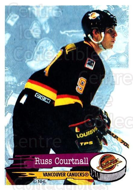 1995-96 Panini Stickers #296 Russ Courtnall<br/>6 In Stock - $1.00 each - <a href=https://centericecollectibles.foxycart.com/cart?name=1995-96%20Panini%20Stickers%20%23296%20Russ%20Courtnall...&quantity_max=6&price=$1.00&code=154641 class=foxycart> Buy it now! </a>