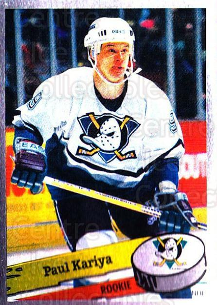 1995-96 Panini Stickers #300 Paul Kariya<br/>6 In Stock - $1.00 each - <a href=https://centericecollectibles.foxycart.com/cart?name=1995-96%20Panini%20Stickers%20%23300%20Paul%20Kariya...&quantity_max=6&price=$1.00&code=154646 class=foxycart> Buy it now! </a>