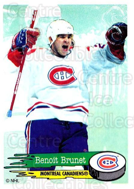 1995-96 Panini Stickers #39 Benoit Brunet<br/>6 In Stock - $1.00 each - <a href=https://centericecollectibles.foxycart.com/cart?name=1995-96%20Panini%20Stickers%20%2339%20Benoit%20Brunet...&quantity_max=6&price=$1.00&code=154661 class=foxycart> Buy it now! </a>