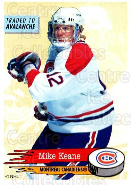 1995-96 Panini Stickers #40 Mike Keane<br/>6 In Stock - $1.00 each - <a href=https://centericecollectibles.foxycart.com/cart?name=1995-96%20Panini%20Stickers%20%2340%20Mike%20Keane...&quantity_max=6&price=$1.00&code=154663 class=foxycart> Buy it now! </a>