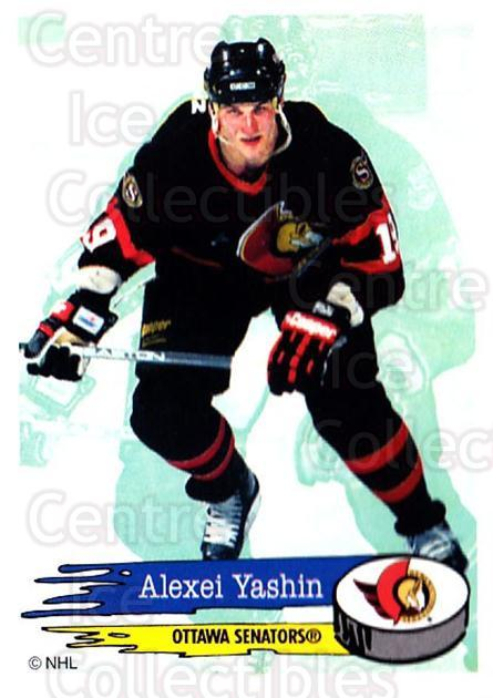 1995-96 Panini Stickers #48 Alexei Yashin<br/>6 In Stock - $1.00 each - <a href=https://centericecollectibles.foxycart.com/cart?name=1995-96%20Panini%20Stickers%20%2348%20Alexei%20Yashin...&quantity_max=6&price=$1.00&code=154670 class=foxycart> Buy it now! </a>
