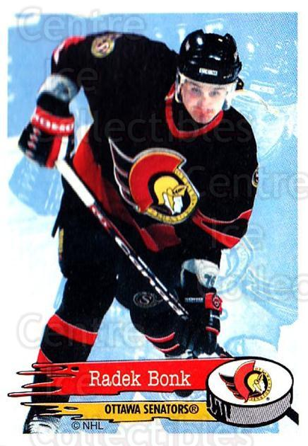 1995-96 Panini Stickers #50 Radek Bonk<br/>6 In Stock - $1.00 each - <a href=https://centericecollectibles.foxycart.com/cart?name=1995-96%20Panini%20Stickers%20%2350%20Radek%20Bonk...&quantity_max=6&price=$1.00&code=154673 class=foxycart> Buy it now! </a>
