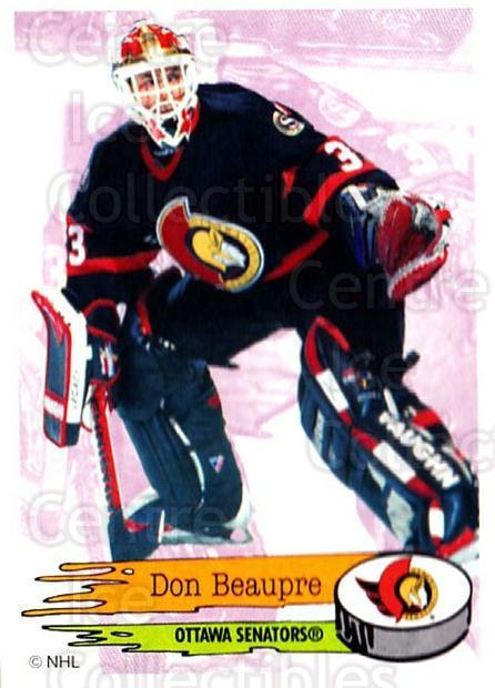 1995-96 Panini Stickers #57 Don Beaupre<br/>6 In Stock - $1.00 each - <a href=https://centericecollectibles.foxycart.com/cart?name=1995-96%20Panini%20Stickers%20%2357%20Don%20Beaupre...&quantity_max=6&price=$1.00&code=154680 class=foxycart> Buy it now! </a>