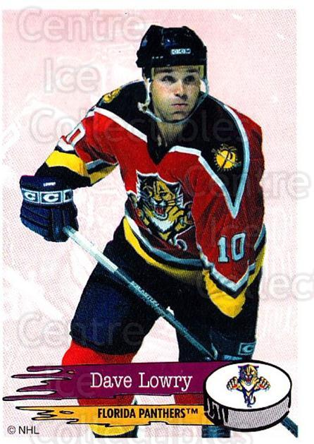 1995-96 Panini Stickers #73 Dave Lowry<br/>6 In Stock - $1.00 each - <a href=https://centericecollectibles.foxycart.com/cart?name=1995-96%20Panini%20Stickers%20%2373%20Dave%20Lowry...&quantity_max=6&price=$1.00&code=154696 class=foxycart> Buy it now! </a>