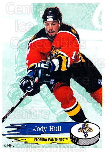 1995-96 Panini Stickers #74 Jody Hull<br/>5 In Stock - $1.00 each - <a href=https://centericecollectibles.foxycart.com/cart?name=1995-96%20Panini%20Stickers%20%2374%20Jody%20Hull...&quantity_max=5&price=$1.00&code=154697 class=foxycart> Buy it now! </a>
