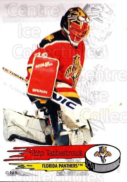 1995-96 Panini Stickers #79 John Vanbiesbrouck<br/>4 In Stock - $1.00 each - <a href=https://centericecollectibles.foxycart.com/cart?name=1995-96%20Panini%20Stickers%20%2379%20John%20Vanbiesbro...&quantity_max=4&price=$1.00&code=154702 class=foxycart> Buy it now! </a>