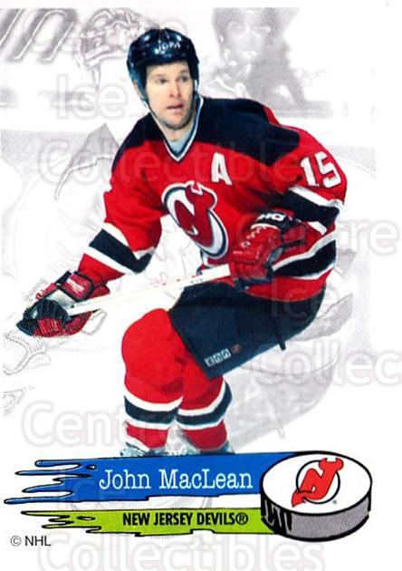 1995-96 Panini Stickers #83 John MacLean<br/>6 In Stock - $1.00 each - <a href=https://centericecollectibles.foxycart.com/cart?name=1995-96%20Panini%20Stickers%20%2383%20John%20MacLean...&quantity_max=6&price=$1.00&code=154707 class=foxycart> Buy it now! </a>