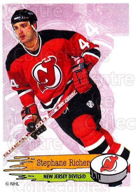 1995-96 Panini Stickers #85 Stephane Richer<br/>6 In Stock - $1.00 each - <a href=https://centericecollectibles.foxycart.com/cart?name=1995-96%20Panini%20Stickers%20%2385%20Stephane%20Richer...&quantity_max=6&price=$1.00&code=154709 class=foxycart> Buy it now! </a>
