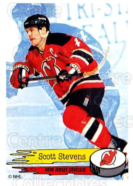 1995-96 Panini Stickers #89 Scott Stevens<br/>6 In Stock - $1.00 each - <a href=https://centericecollectibles.foxycart.com/cart?name=1995-96%20Panini%20Stickers%20%2389%20Scott%20Stevens...&quantity_max=6&price=$1.00&code=154713 class=foxycart> Buy it now! </a>