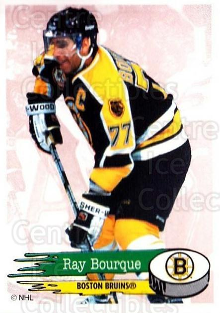 1995-96 Panini Stickers #9 Ray Bourque<br/>5 In Stock - $1.00 each - <a href=https://centericecollectibles.foxycart.com/cart?name=1995-96%20Panini%20Stickers%20%239%20Ray%20Bourque...&quantity_max=5&price=$1.00&code=154714 class=foxycart> Buy it now! </a>