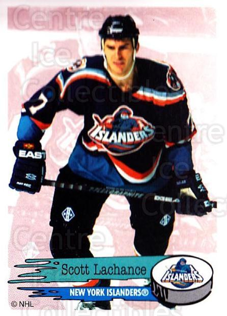 1995-96 Panini Stickers #97 Scott Lachance<br/>6 In Stock - $1.00 each - <a href=https://centericecollectibles.foxycart.com/cart?name=1995-96%20Panini%20Stickers%20%2397%20Scott%20Lachance...&quantity_max=6&price=$1.00&code=154721 class=foxycart> Buy it now! </a>