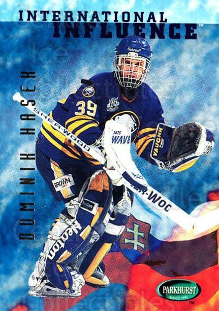 1995-96 Parkhurst #236 Dominik Hasek<br/>4 In Stock - $1.00 each - <a href=https://centericecollectibles.foxycart.com/cart?name=1995-96%20Parkhurst%20%23236%20Dominik%20Hasek...&quantity_max=4&price=$1.00&code=154726 class=foxycart> Buy it now! </a>
