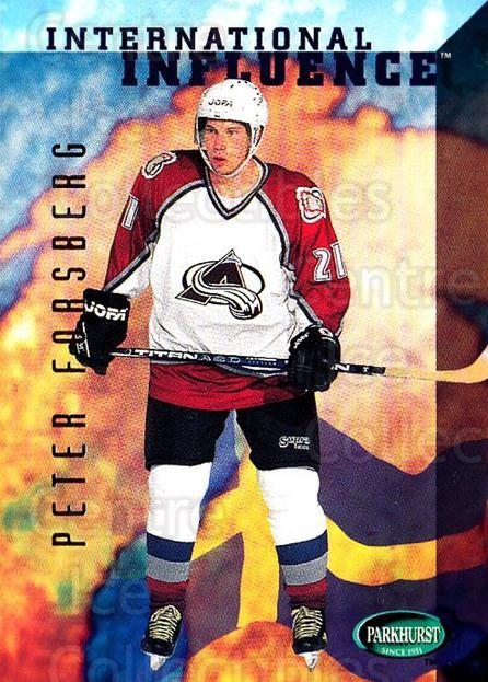 1995-96 Parkhurst #237 Peter Forsberg<br/>3 In Stock - $1.00 each - <a href=https://centericecollectibles.foxycart.com/cart?name=1995-96%20Parkhurst%20%23237%20Peter%20Forsberg...&quantity_max=3&price=$1.00&code=154727 class=foxycart> Buy it now! </a>