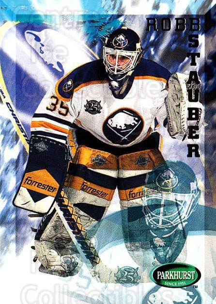 1995-96 Parkhurst #25 Robb Stauber<br/>1 In Stock - $1.00 each - <a href=https://centericecollectibles.foxycart.com/cart?name=1995-96%20Parkhurst%20%2325%20Robb%20Stauber...&quantity_max=1&price=$1.00&code=154741 class=foxycart> Buy it now! </a>