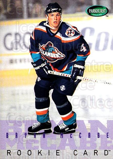 1995-96 Parkhurst #256 Bryan McCabe<br/>4 In Stock - $1.00 each - <a href=https://centericecollectibles.foxycart.com/cart?name=1995-96%20Parkhurst%20%23256%20Bryan%20McCabe...&quantity_max=4&price=$1.00&code=154748 class=foxycart> Buy it now! </a>