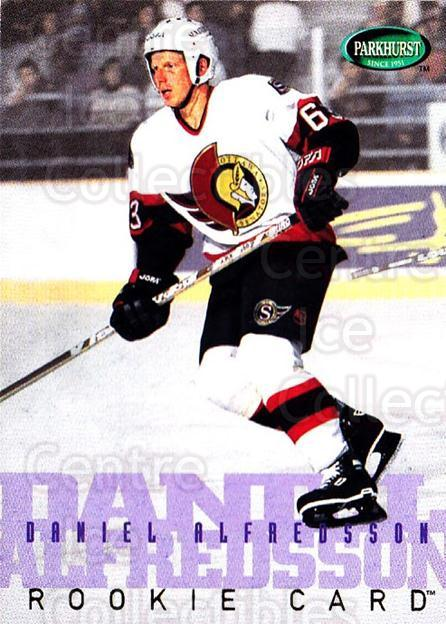 1995-96 Parkhurst #257 Daniel Alfredsson<br/>4 In Stock - $2.00 each - <a href=https://centericecollectibles.foxycart.com/cart?name=1995-96%20Parkhurst%20%23257%20Daniel%20Alfredss...&quantity_max=4&price=$2.00&code=154749 class=foxycart> Buy it now! </a>