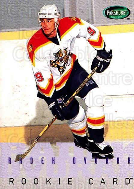 1995-96 Parkhurst #260 Radek Dvorak<br/>4 In Stock - $1.00 each - <a href=https://centericecollectibles.foxycart.com/cart?name=1995-96%20Parkhurst%20%23260%20Radek%20Dvorak...&quantity_max=4&price=$1.00&code=154753 class=foxycart> Buy it now! </a>