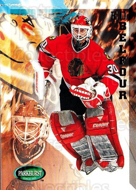 1995-96 Parkhurst #41 Ed Belfour<br/>3 In Stock - $1.00 each - <a href=https://centericecollectibles.foxycart.com/cart?name=1995-96%20Parkhurst%20%2341%20Ed%20Belfour...&quantity_max=3&price=$1.00&code=154916 class=foxycart> Buy it now! </a>