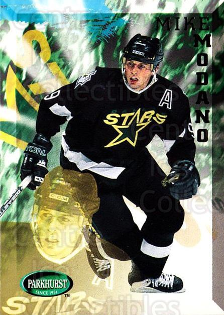 1995-96 Parkhurst #55 Mike Modano<br/>2 In Stock - $2.00 each - <a href=https://centericecollectibles.foxycart.com/cart?name=1995-96%20Parkhurst%20%2355%20Mike%20Modano...&quantity_max=2&price=$2.00&code=155057 class=foxycart> Buy it now! </a>