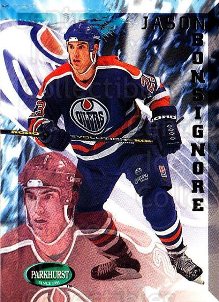 1995-96 Parkhurst #80 Jason Bonsignore<br/>2 In Stock - $1.00 each - <a href=https://centericecollectibles.foxycart.com/cart?name=1995-96%20Parkhurst%20%2380%20Jason%20Bonsignor...&quantity_max=2&price=$1.00&code=155085 class=foxycart> Buy it now! </a>