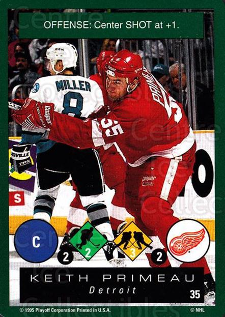 1995-96 Playoff One on One #35 Keith Primeau<br/>7 In Stock - $1.00 each - <a href=https://centericecollectibles.foxycart.com/cart?name=1995-96%20Playoff%20One%20on%20One%20%2335%20Keith%20Primeau...&quantity_max=7&price=$1.00&code=155363 class=foxycart> Buy it now! </a>