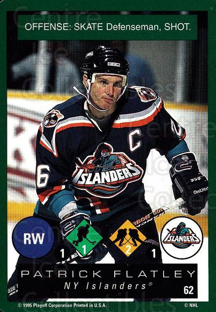 1995-96 Playoff One on One #62 Pat Flatley<br/>6 In Stock - $1.00 each - <a href=https://centericecollectibles.foxycart.com/cart?name=1995-96%20Playoff%20One%20on%20One%20%2362%20Pat%20Flatley...&quantity_max=6&price=$1.00&code=155392 class=foxycart> Buy it now! </a>