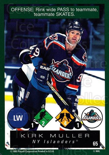 1995-96 Playoff One on One #65 Kirk Muller<br/>7 In Stock - $1.00 each - <a href=https://centericecollectibles.foxycart.com/cart?name=1995-96%20Playoff%20One%20on%20One%20%2365%20Kirk%20Muller...&quantity_max=7&price=$1.00&code=155395 class=foxycart> Buy it now! </a>