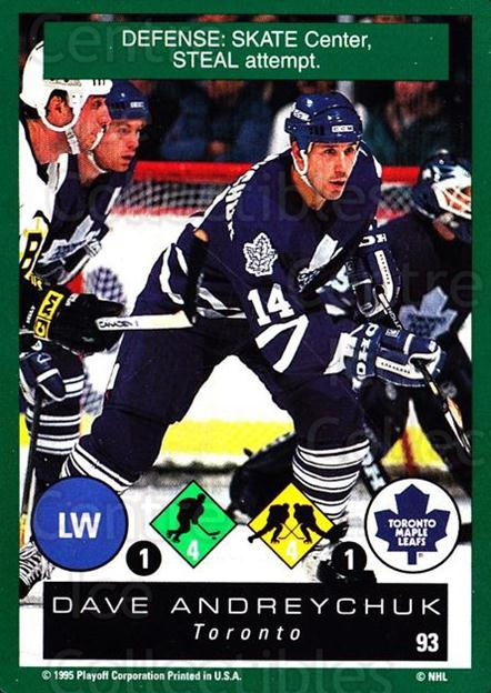 1995-96 Playoff One on One #93 Dave Andreychuk<br/>6 In Stock - $1.00 each - <a href=https://centericecollectibles.foxycart.com/cart?name=1995-96%20Playoff%20One%20on%20One%20%2393%20Dave%20Andreychuk...&quantity_max=6&price=$1.00&code=155425 class=foxycart> Buy it now! </a>