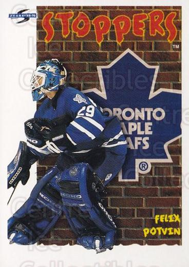 1995-96 Score #316 Felix Potvin<br/>4 In Stock - $1.00 each - <a href=https://centericecollectibles.foxycart.com/cart?name=1995-96%20Score%20%23316%20Felix%20Potvin...&quantity_max=4&price=$1.00&code=155520 class=foxycart> Buy it now! </a>