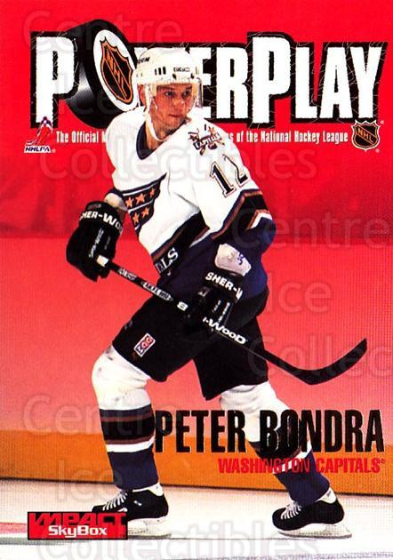 1995-96 SkyBox Impact #242 Peter Bondra<br/>5 In Stock - $1.00 each - <a href=https://centericecollectibles.foxycart.com/cart?name=1995-96%20SkyBox%20Impact%20%23242%20Peter%20Bondra...&quantity_max=5&price=$1.00&code=155730 class=foxycart> Buy it now! </a>
