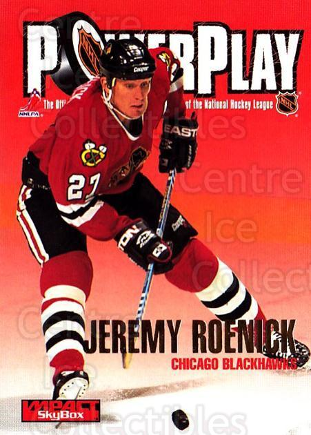 1995-96 SkyBox Impact #243 Jeremy Roenick<br/>4 In Stock - $1.00 each - <a href=https://centericecollectibles.foxycart.com/cart?name=1995-96%20SkyBox%20Impact%20%23243%20Jeremy%20Roenick...&quantity_max=4&price=$1.00&code=155731 class=foxycart> Buy it now! </a>