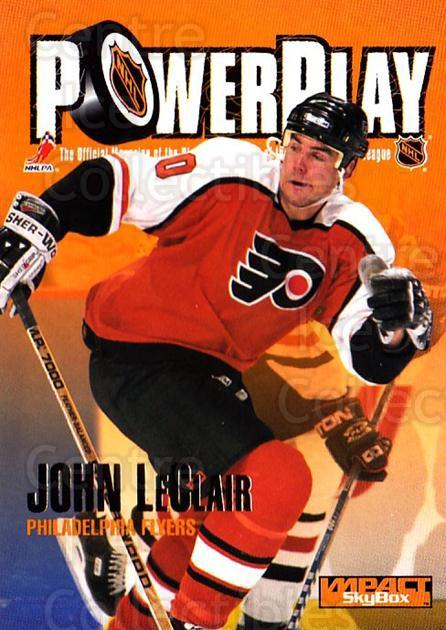 1995-96 SkyBox Impact #244 John LeClair<br/>5 In Stock - $1.00 each - <a href=https://centericecollectibles.foxycart.com/cart?name=1995-96%20SkyBox%20Impact%20%23244%20John%20LeClair...&quantity_max=5&price=$1.00&code=155732 class=foxycart> Buy it now! </a>