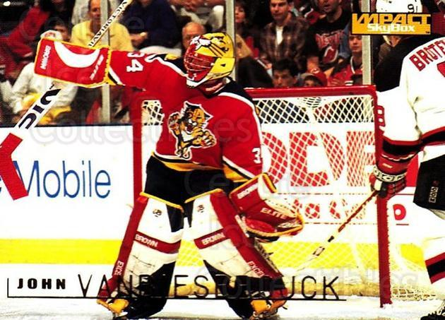 1995-96 SkyBox Impact #70 John Vanbiesbrouck<br/>4 In Stock - $1.00 each - <a href=https://centericecollectibles.foxycart.com/cart?name=1995-96%20SkyBox%20Impact%20%2370%20John%20Vanbiesbro...&quantity_max=4&price=$1.00&code=155785 class=foxycart> Buy it now! </a>