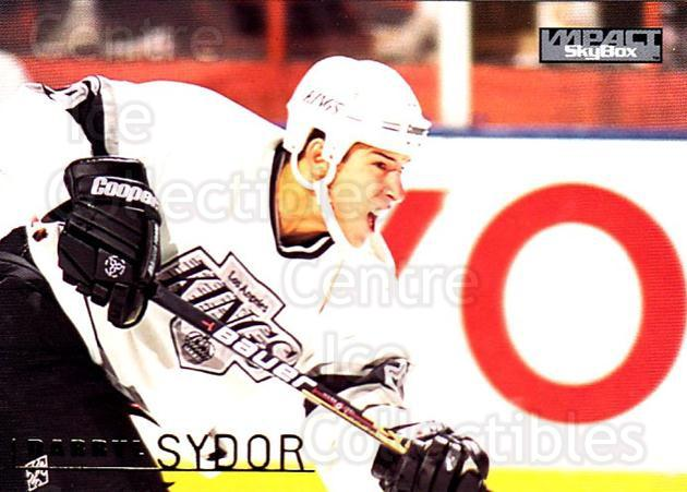 1995-96 SkyBox Impact #82 Darryl Sydor<br/>5 In Stock - $1.00 each - <a href=https://centericecollectibles.foxycart.com/cart?name=1995-96%20SkyBox%20Impact%20%2382%20Darryl%20Sydor...&quantity_max=5&price=$1.00&code=155798 class=foxycart> Buy it now! </a>
