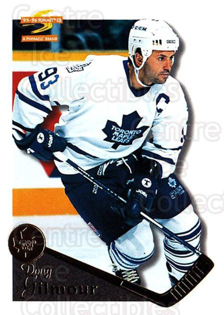 1995-96 Summit #62 Doug Gilmour<br/>3 In Stock - $1.00 each - <a href=https://centericecollectibles.foxycart.com/cart?name=1995-96%20Summit%20%2362%20Doug%20Gilmour...&quantity_max=3&price=$1.00&code=155823 class=foxycart> Buy it now! </a>