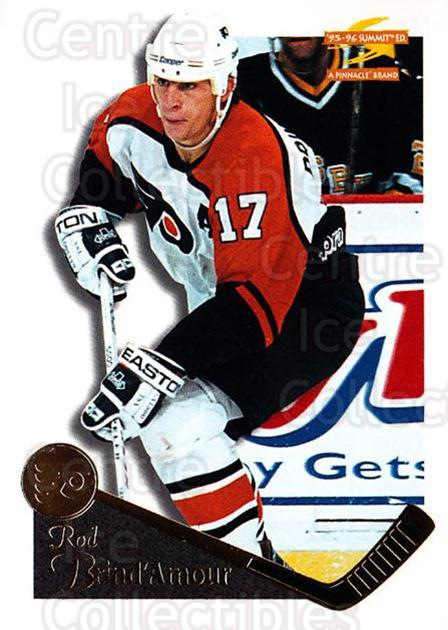 1995-96 Summit #79 Rod Brind'Amour<br/>5 In Stock - $1.00 each - <a href=https://centericecollectibles.foxycart.com/cart?name=1995-96%20Summit%20%2379%20Rod%20Brind'Amour...&quantity_max=5&price=$1.00&code=155841 class=foxycart> Buy it now! </a>