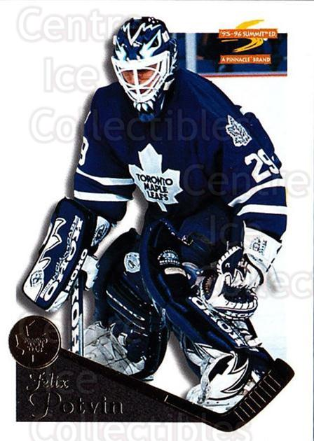 1995-96 Summit #80 Felix Potvin<br/>3 In Stock - $1.00 each - <a href=https://centericecollectibles.foxycart.com/cart?name=1995-96%20Summit%20%2380%20Felix%20Potvin...&quantity_max=3&price=$1.00&code=155843 class=foxycart> Buy it now! </a>