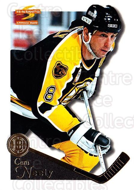 1995-96 Summit #81 Cam Neely<br/>5 In Stock - $1.00 each - <a href=https://centericecollectibles.foxycart.com/cart?name=1995-96%20Summit%20%2381%20Cam%20Neely...&quantity_max=5&price=$1.00&code=155844 class=foxycart> Buy it now! </a>