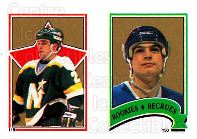 1987-88 O-Pee-Chee Stickers #118-130 Dino Ciccarelli, Jason Lafreniere<br/>9 In Stock - $2.00 each - <a href=https://centericecollectibles.foxycart.com/cart?name=1987-88%20O-Pee-Chee%20Stickers%20%23118-130%20Dino%20Ciccarelli...&quantity_max=9&price=$2.00&code=155 class=foxycart> Buy it now! </a>