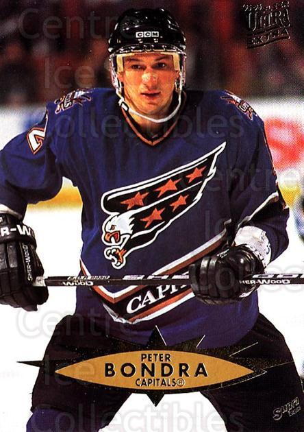 1995-96 Ultra #319 Peter Bondra<br/>2 In Stock - $1.00 each - <a href=https://centericecollectibles.foxycart.com/cart?name=1995-96%20Ultra%20%23319%20Peter%20Bondra...&quantity_max=2&price=$1.00&code=156221 class=foxycart> Buy it now! </a>