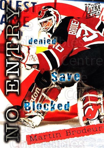 1995-96 Ultra #366 Martin Brodeur<br/>2 In Stock - $2.00 each - <a href=https://centericecollectibles.foxycart.com/cart?name=1995-96%20Ultra%20%23366%20Martin%20Brodeur...&quantity_max=2&price=$2.00&code=156273 class=foxycart> Buy it now! </a>