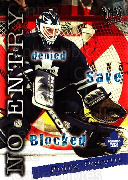 1995-96 Ultra #375 Felix Potvin<br/>1 In Stock - $1.00 each - <a href=https://centericecollectibles.foxycart.com/cart?name=1995-96%20Ultra%20%23375%20Felix%20Potvin...&quantity_max=1&price=$1.00&code=156283 class=foxycart> Buy it now! </a>