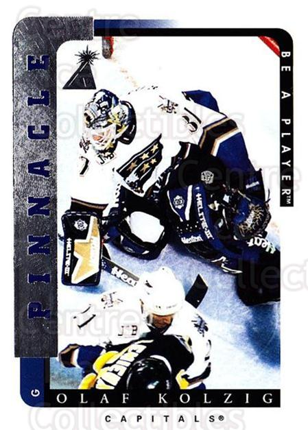 1996-97 Be A Player #78 Olaf Kolzig<br/>5 In Stock - $1.00 each - <a href=https://centericecollectibles.foxycart.com/cart?name=1996-97%20Be%20A%20Player%20%2378%20Olaf%20Kolzig...&quantity_max=5&price=$1.00&code=156486 class=foxycart> Buy it now! </a>