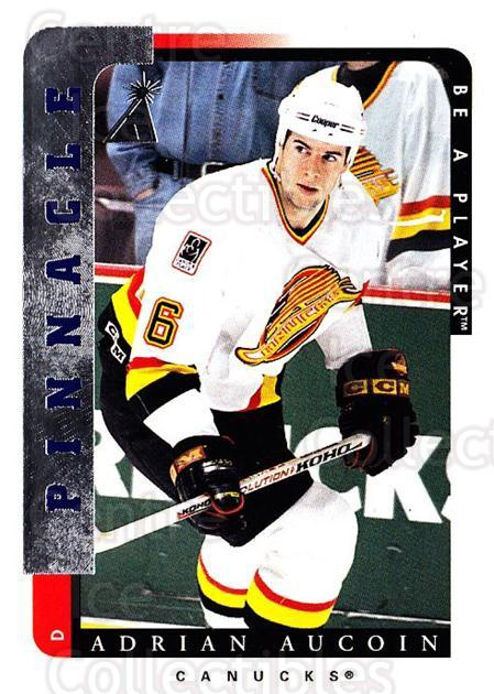 1996-97 Be A Player #79 Adrian Aucoin<br/>5 In Stock - $1.00 each - <a href=https://centericecollectibles.foxycart.com/cart?name=1996-97%20Be%20A%20Player%20%2379%20Adrian%20Aucoin...&quantity_max=5&price=$1.00&code=156487 class=foxycart> Buy it now! </a>
