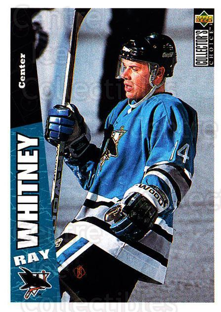 1996-97 Collectors Choice #240 Ray Whitney<br/>4 In Stock - $1.00 each - <a href=https://centericecollectibles.foxycart.com/cart?name=1996-97%20Collectors%20Choice%20%23240%20Ray%20Whitney...&quantity_max=4&price=$1.00&code=156513 class=foxycart> Buy it now! </a>