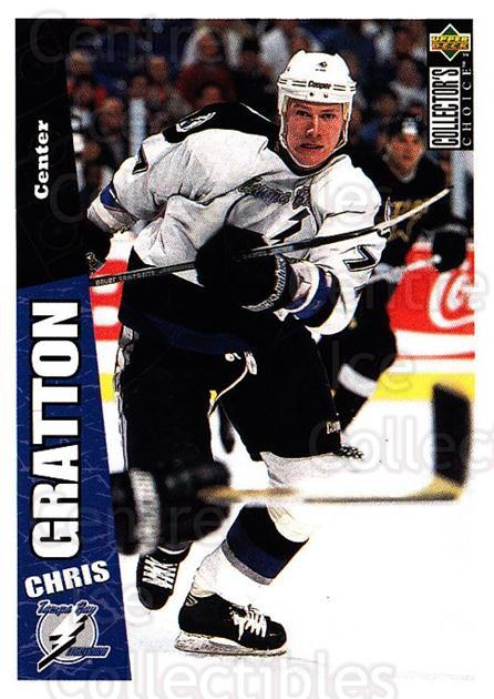 1996-97 Collectors Choice #245 Chris Gratton<br/>3 In Stock - $1.00 each - <a href=https://centericecollectibles.foxycart.com/cart?name=1996-97%20Collectors%20Choice%20%23245%20Chris%20Gratton...&quantity_max=3&price=$1.00&code=156518 class=foxycart> Buy it now! </a>