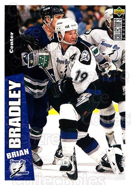 1996-97 Collectors Choice #250 Brian Bradley<br/>4 In Stock - $1.00 each - <a href=https://centericecollectibles.foxycart.com/cart?name=1996-97%20Collectors%20Choice%20%23250%20Brian%20Bradley...&quantity_max=4&price=$1.00&code=156524 class=foxycart> Buy it now! </a>